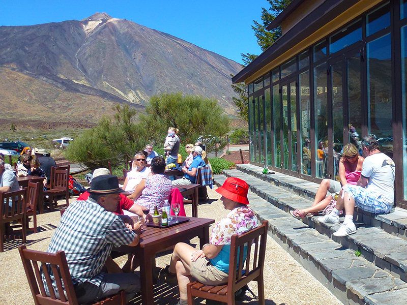 Pico del Teide - Restaurants und Bars