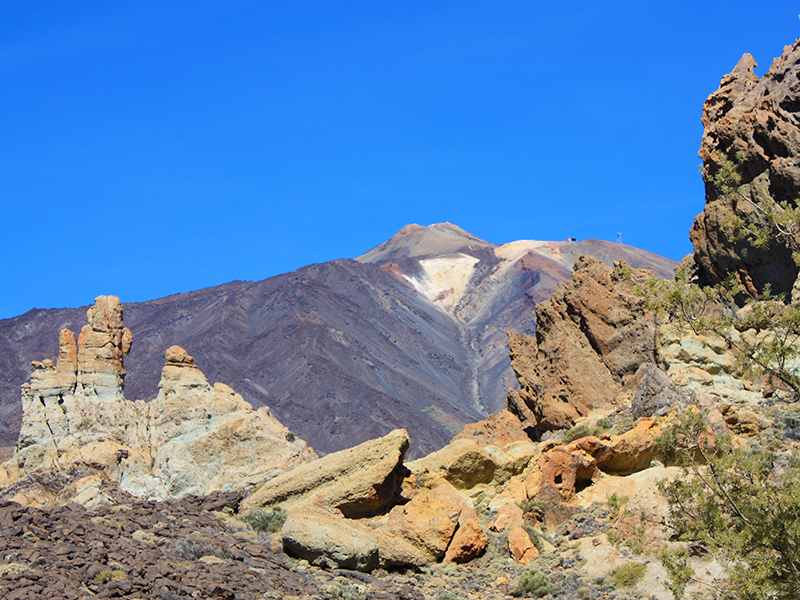 Pico del Teide - Wanderwege
