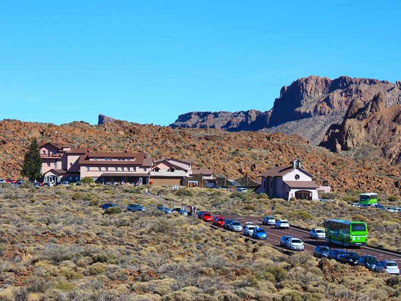 Hotels und Unterkünfte am Teide Massiv